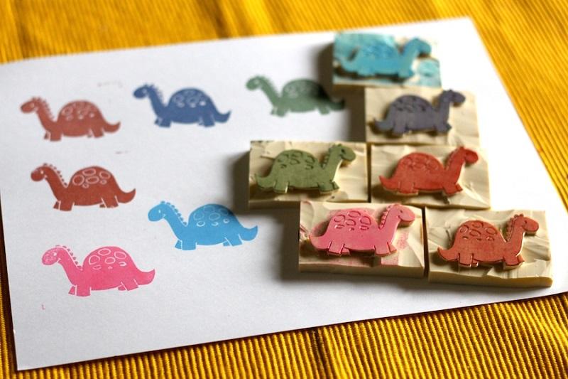 Erasers stamp