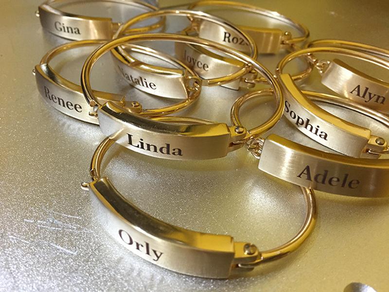 Name-Bracelets-Laser-Engraving-Brass-Jewelry-NYC