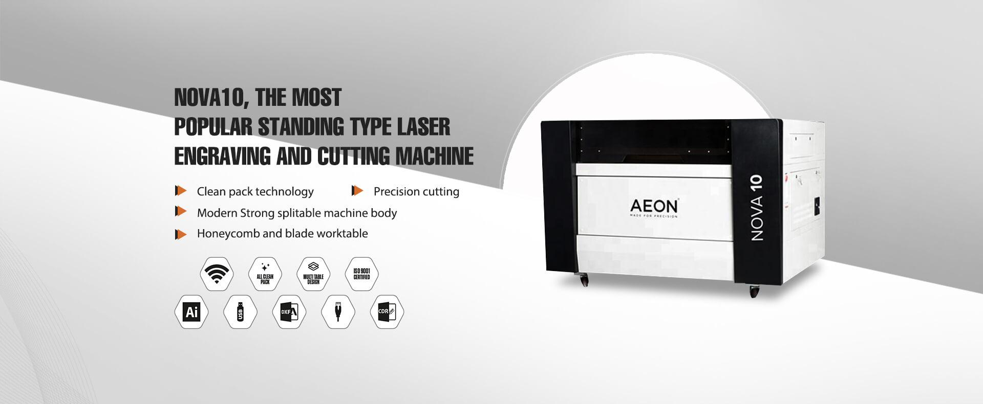 commercial standing model laser engraving and cutting machine